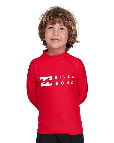 RED BOARDSPORTS SURF BILLABONG BOYS - BB-7703001-RED