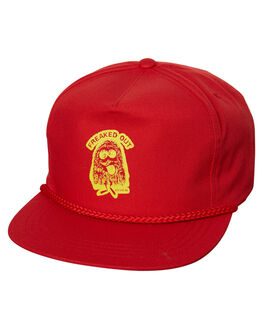 RED MENS ACCESSORIES BRIXTON HEADWEAR - 00951RED