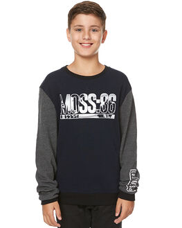 CARBON CHARCOAL KIDS BOYS MOSSIMO JUMPERS - 3M75GDCAR