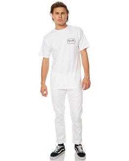 WHITE MENS CLOTHING BRIXTON PANTS - 4038WHI