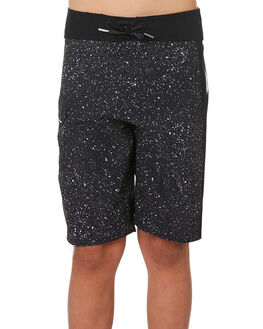NEW BLACK KIDS BOYS VOLCOM BOARDSHORTS - C0811915NBK