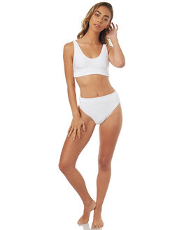 WHITE WOMENS SWIMWEAR ZULU AND ZEPHYR BIKINI SETS - ZZ1761WHT