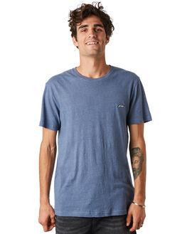 CROWN BLUE MENS CLOTHING RUSTY TEES - TTM2313CWB
