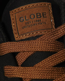 BLACK MENS FOOTWEAR GLOBE SKATE SHOES - GBGSBLK
