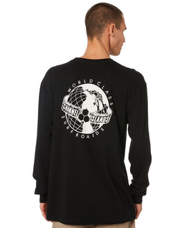 BLACK MENS CLOTHING CHANNEL ISLANDS TEES - 21646100001BLK