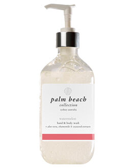 WATERMELON WOMENS ACCESSORIES PALM BEACH COLLECTION BODY PRODUCTS - HBWXWWMUL
