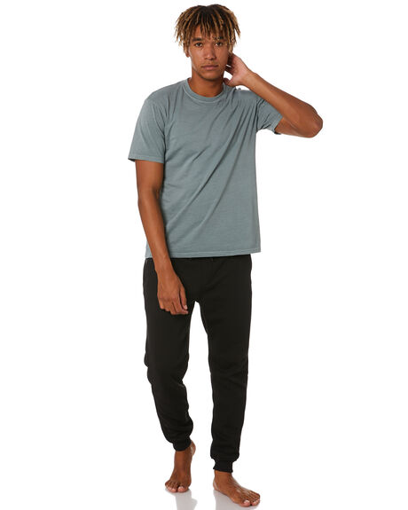 SOLID BLACK MENS CLOTHING RIP CURL PANTS - CPABO91102