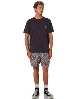 WHITE LEOPARD MENS CLOTHING BARNEY COOLS BOARDSHORTS - 804-CC4WHLEO