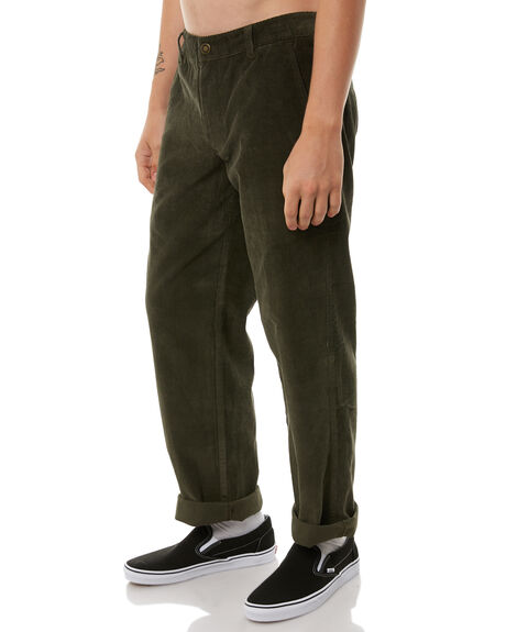 DARK OLIVE MENS CLOTHING DICKIES PANTS - K1180905DOLI