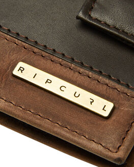 BROWN MENS ACCESSORIES RIP CURL WALLETS - BWLIG10009