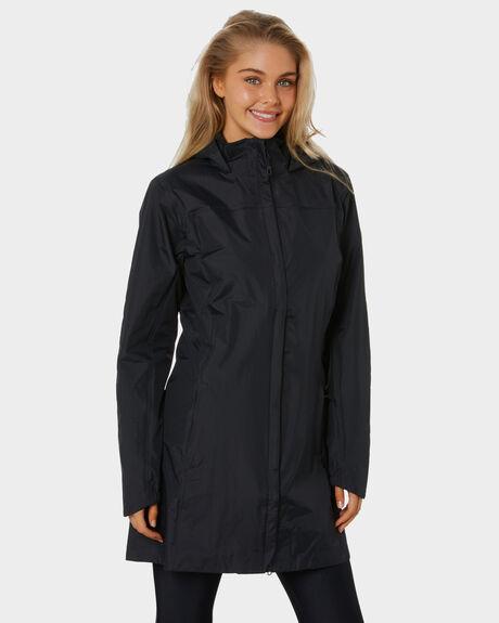 BLACK WOMENS CLOTHING PATAGONIA JACKETS - 27119BLK