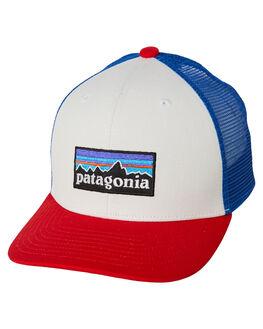 WHITE KIDS BOYS PATAGONIA HEADWEAR - 66032PLWT