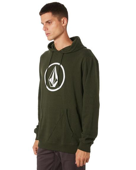 DARK GREEN MENS CLOTHING VOLCOM JUMPERS - A41316V3DKGRN