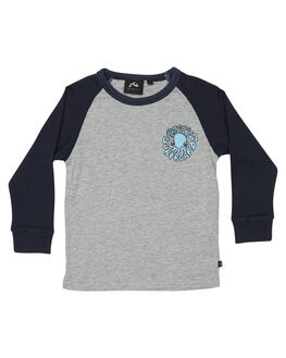 GREY MARLE KIDS TODDLER BOYS RUSTY TEES - TTR0372GMA
