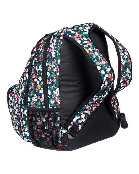 ANTHRACITE BOUQUET WOMENS ACCESSORIES ROXY BAGS + BACKPACKS - ERJBP04013-KVJ8