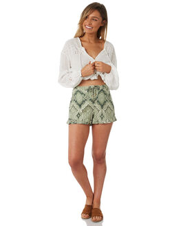 GREEN WOMENS CLOTHING TIGERLILY SHORTS - T382301GRE