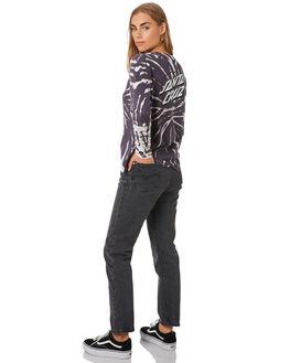 STORMI TYE DYE WOMENS CLOTHING SANTA CRUZ TEES - SC-WLA0106STOM