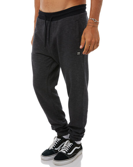 BLACK HEATHER MENS CLOTHING BILLABONG PANTS - 9585306BLH