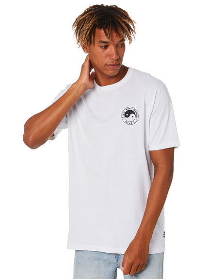WHITE MENS CLOTHING TOWN AND COUNTRY TEES - TTE411BWHT