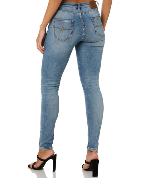 BLUE HAZE WOMENS CLOTHING RUSTY JEANS - PAL1149BHZ