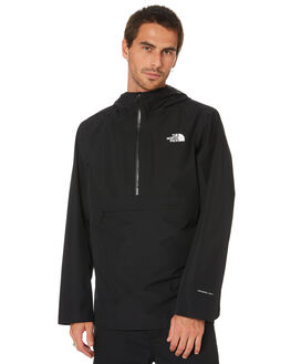 TNF BLACK MENS CLOTHING THE NORTH FACE JACKETS - NF0A4AGXJK3