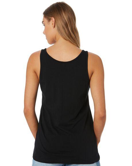 BLACK WOMENS CLOTHING RIP CURL SINGLETS - GTECH20090