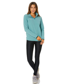 TRELLIS GREEN WOMENS CLOTHING THE NORTH FACE JUMPERS - NF0A48KMJE1