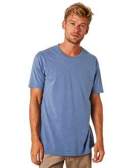FADED BLUE MENS CLOTHING AS COLOUR TEES - 5065FBLU