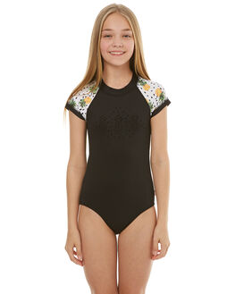 BLACK KIDS GIRLS SEAFOLLY SWIMWEAR - 15556BLK