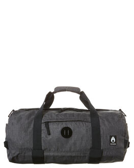 CHARCOAL HEATHER MENS ACCESSORIES NIXON BAGS + BACKPACKS - C2824168