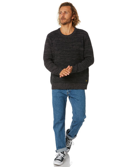 CHARCOAL MENS CLOTHING DEPACTUS KNITS + CARDIGANS - D5211145CHARC