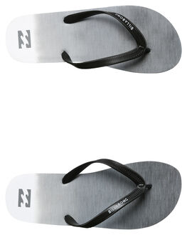 CHARCOAL MENS FOOTWEAR BILLABONG THONGS - 9672932CHR