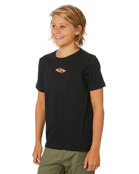 BLACK KIDS BOYS QUIKSILVER TOPS - EQBZT04131-KVJ0