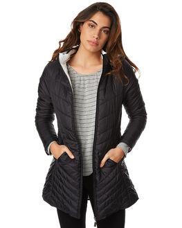 WHT BLK REVERSE WOMENS CLOTHING BETTY BASICS JACKETS - BB609W17WHBLR