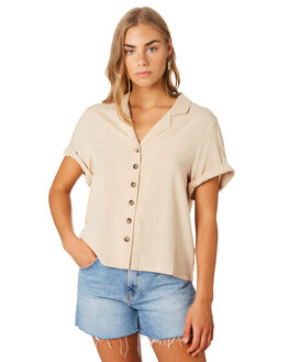 SAND WOMENS CLOTHING SWELL FASHION TOPS - S8202015SAND
