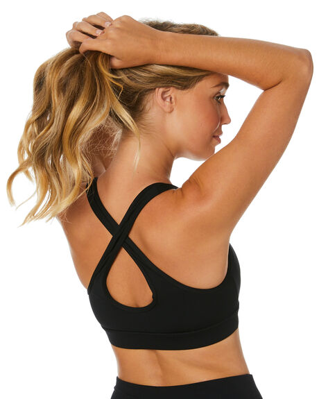 BLACK WOMENS CLOTHING THE UPSIDE ACTIVEWEAR - USW120054BLK