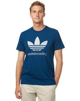 BLUE MENS CLOTHING ADIDAS ORIGINALS TEES - BR4993BLU