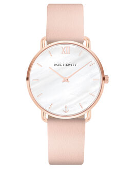 ROSE GOLD PEARL NUDE WOMENS ACCESSORIES PAUL HEWITT WATCHES - PH-M-R-P-30SRGPLN