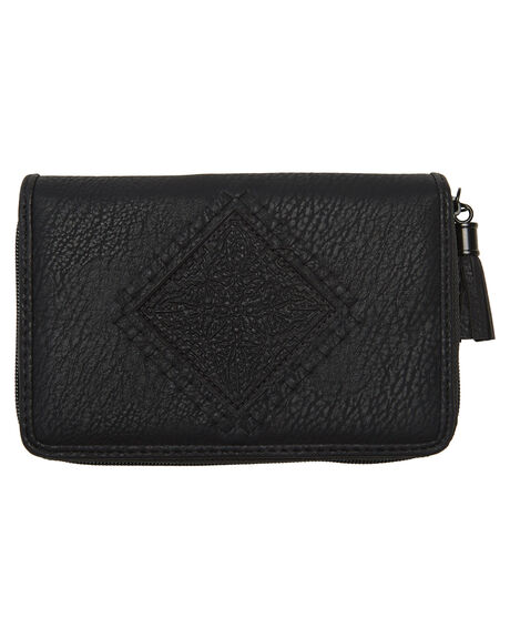 BLACK WOMENS ACCESSORIES BILLABONG PURSES + WALLETS - 6681206BBLK