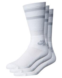 WHITE WOLF GREY MENS CLOTHING NIKE SOCKS + UNDERWEAR - SX5760100