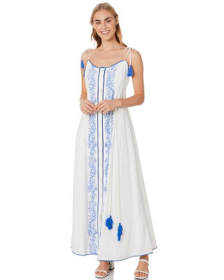 WHITE WOMENS CLOTHING TIGERLILY DRESSES - T305424WHT