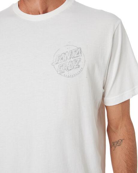 OFF WHITE MENS CLOTHING SANTA CRUZ TEES - SC-MTD0748OFFWHT