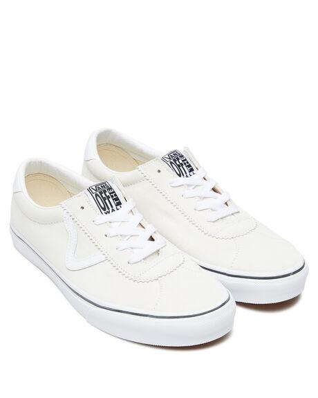 WHITE MENS FOOTWEAR VANS SNEAKERS - VN0A4BU6XNHWHT