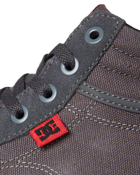 GREY KIDS BOYS DC SHOES SNEAKERS - ADBS300255GRY