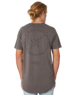 CHARCOAL MENS CLOTHING SILENT THEORY TEES - 4034005.CHAR