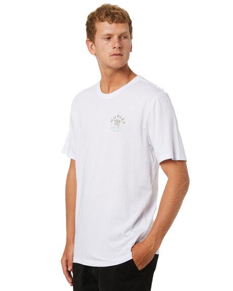 WHITE MENS CLOTHING HURLEY TEES - CZ6048H100
