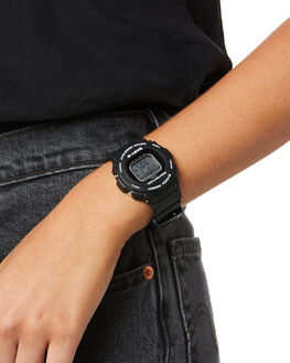 BLACK WOMENS ACCESSORIES BABY G WATCHES - BLX570-1DBLK