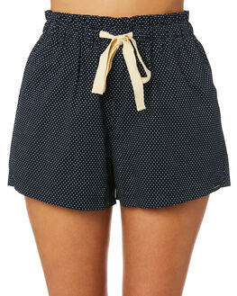 NAVY WOMENS CLOTHING RPM SHORTS - 9SWB01BNVY