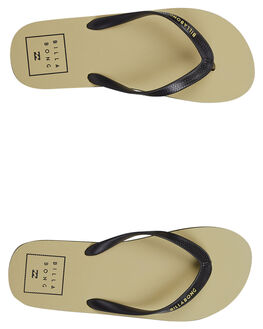 KHAKI MENS FOOTWEAR BILLABONG THONGS - 9691952KHAKI