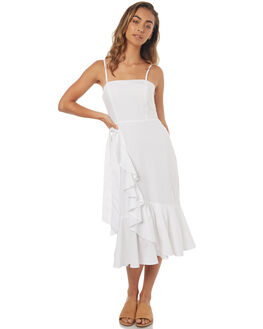 WHITE WOMENS CLOTHING C&M CAMILLA AND MARC DRESSES - QCMD1455WHT